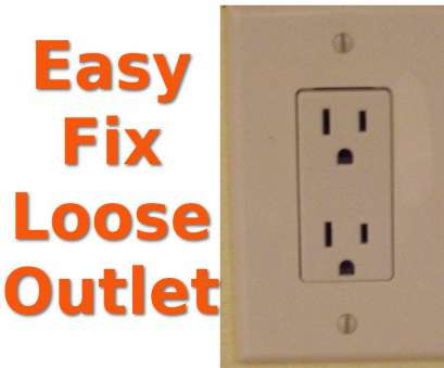 electrical outlet loose connection Repairing Loose Electrical Outlets Electrical Outlet Loose Connection Brilliant Repairing Loose Electrical Outlets Galleries