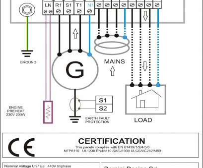 Electrical Panel Wiring Pdf Professional Generator Changeover Switch Wiring Diagram Nz Sample, Old Fashioned Transfer Panel Wiring Diagram Inspiration Electrical Ideas