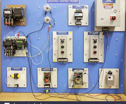 electrical panel wiring training An industrial motor control training panel Used in adult, vocational education, Stock Image 17 Brilliant Electrical Panel Wiring Training Galleries