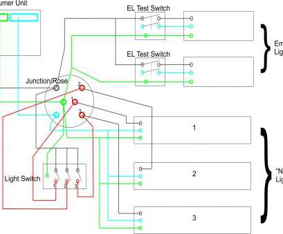 15 Perfect Emergency Light, Switch Wiring Photos