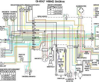 factory electrical wiring diagram cb450 color wiring diagram, corrected rh hondatwins, Basic Electrical Wiring Diagrams Residential Electrical Wiring Diagrams 16 Practical Factory Electrical Wiring Diagram Collections