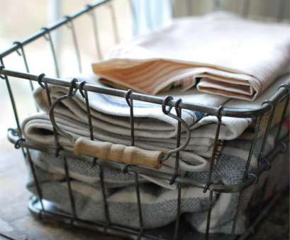 farmhouse wire basket shelves Vintage Style Farmhouse Wire Basket, handtowels in, bathroom, instead of them being rolled up in a basket or hidden in a closeti Farmhouse Wire Basket Shelves Best Vintage Style Farmhouse Wire Basket, Handtowels In, Bathroom, Instead Of Them Being Rolled Up In A Basket Or Hidden In A Closeti Photos