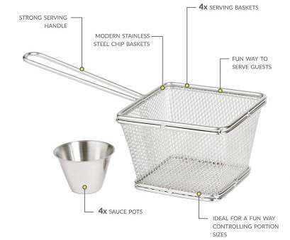 fine wire mesh baskets uk Andrew James Mini Chip Baskets,, of 4 Stainless Steel Serving Baskets, French Fries Onion Rings Potato Wedges, 4 Mini Sauce Pots, Dishwasher Safe: Fine Wire Mesh Baskets Uk Nice Andrew James Mini Chip Baskets,, Of 4 Stainless Steel Serving Baskets, French Fries Onion Rings Potato Wedges, 4 Mini Sauce Pots, Dishwasher Safe: Galleries