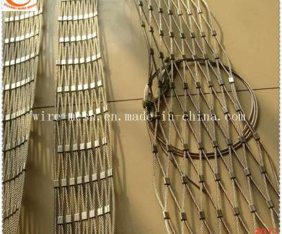 flexible woven wire mesh China 100X100 Stainless Steel Flexible Wire Rope Mesh /Woven Rope 11 Top Flexible Woven Wire Mesh Photos