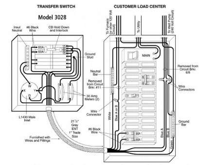 10 Popular Generator Transfer Switch Wiring Pictures