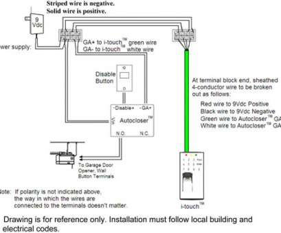Genie Garage Door Opener Wiring Diagram New Genie Garage Door Opener Sensors, Blog, Wiring Diagram, In Commercial Garage Door Wiring Pictures