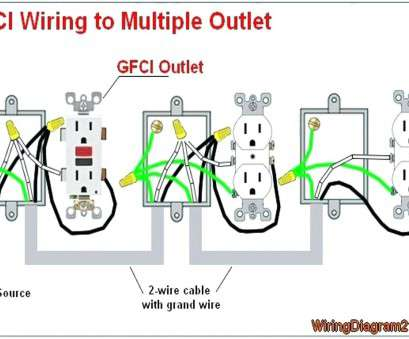 gfci wiring diagrams Electrical Wiring Outlet Multiple Receptacle Diagram, Wire Throughout Gfci Receptacle Wiring Diagram Within Gfci Outlet Wiring Diagram 8 Simple Gfci Wiring Diagrams Pictures