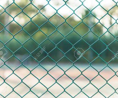Green Wire Mesh Top Green Wire Mesh Steel At Tennis Court Stock Photo, 59945263 Photos