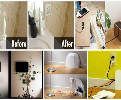 hide electrical wires 12 Ways, to Hide Electrical Cords, To Create Cable Wall, At Home 17 New Hide Electrical Wires Galleries