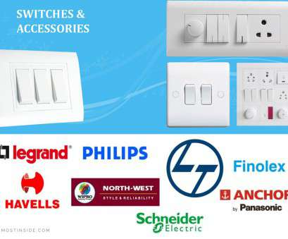 home electrical wiring accessories india Best Brands of Modular Switches in India 18 Popular Home Electrical Wiring Accessories India Pictures