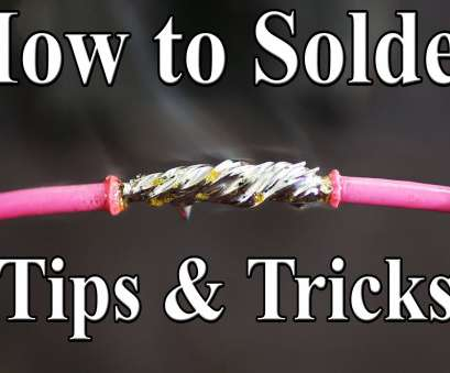 home electrical wiring techniques How to Solder Wires Together (Best tips, tricks) Home Electrical Wiring Techniques Creative How To Solder Wires Together (Best Tips, Tricks) Galleries