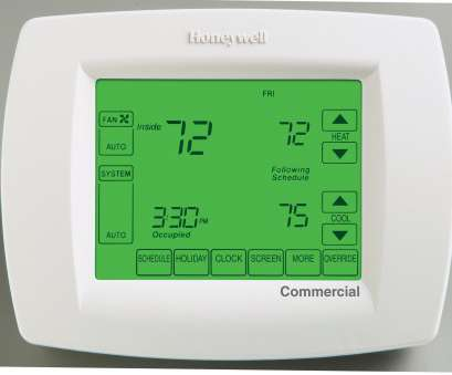 Honeywell 8000 Thermostat Wiring Diagram Cleaver Honeywell Tb8220U1003 Commercial Vision, 8000 Thermostat 24 Volt Wire Color Code Wiring Diagram, Honeywell Vision, 8000 Galleries