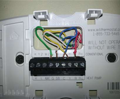 15 Perfect Honeywell Thermostat Wiring Diagram Blue Wire Images
