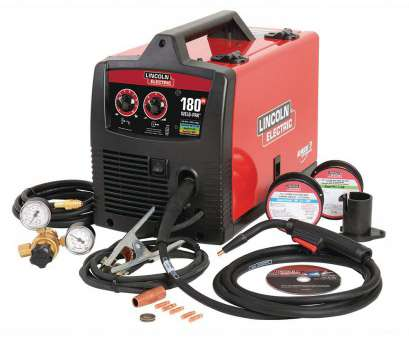 How Many Amps 24 Gauge Wire Creative Lincoln Electric, Amp Weld-Pak, HD, Wire Feed Welder With Magnum 100L Gun,, Regulator,, And Flux-Cored Wire, 230V Solutions