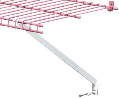 how to hang white wire shelving ClosetMaid 12, White Wire Shelving Support Bracket 100-Pack, 116400 14 Perfect How To Hang White Wire Shelving Solutions