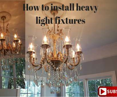 how to install a ceiling light bracket How to install a heavy light fixture How To Install A Ceiling Light Bracket Brilliant How To Install A Heavy Light Fixture Solutions