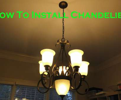 How To Install A Ceiling Light Fixture Video Nice Install 6 Light Chandelier In Dining Room Youtube Rh Youtube, Installing Ceiling Light Fixture Video Pictures
