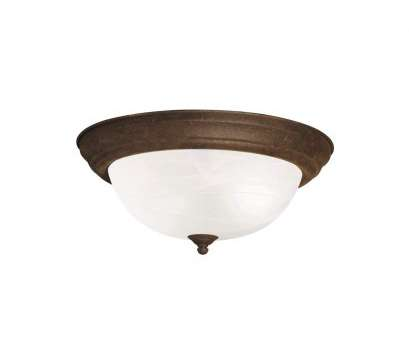 How To Install A Ceiling Light Fixture Video Brilliant Kichler 8110NI Flush Mount 3-Light, Brushed Nickel, Flush Mount Ceiling Light Fixtures, Amazon.Com Galleries