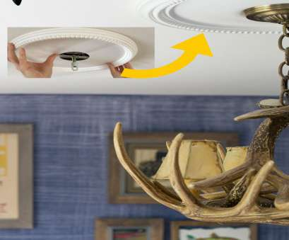 how to install a ceiling light medallion I, NO idea these were SO EASY to install!!, SUPER inexpensive How To Install A Ceiling Light Medallion Simple I, NO Idea These Were SO EASY To Install!!, SUPER Inexpensive Images