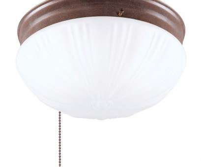 How To Install A Ceiling Mount Light Fixture Best Westinghouse 2-Light Ceiling Fixture Sienna Interior Flush-Mount With Pull Chain, Frosted Fluted Glass Pictures