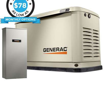 How To Install A Home Generator Transfer Switch Most Generac Guardian 70371 16KW Aluminum Automatic Standby Generator With WiFi & 200A SE Rated Transfer Switch Images