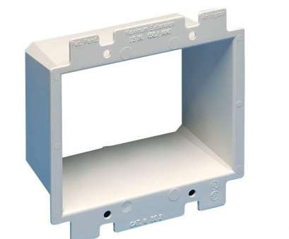 how to install electrical outlet box extender Arlington Industries 2-Gang Wall, Extender How To Install Electrical Outlet, Extender Top Arlington Industries 2-Gang Wall, Extender Pictures