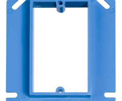 how to install electrical outlet box extender Electrical, Extender-BE1-2 -, Home Depot How To Install Electrical Outlet, Extender Cleaver Electrical, Extender-BE1-2 -, Home Depot Solutions