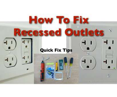 how to install electrical outlet box extender How to, Bad Recessed Outlets How To Install Electrical Outlet, Extender Brilliant How To, Bad Recessed Outlets Photos