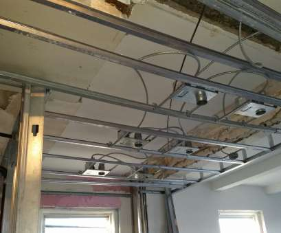 how to install recessed lighting in a finished ceiling Finish Rough In Of Plumbing,, Recessed Lighting Being, Drop How To Install Recessed Lighting In A Finished Ceiling Cleaver Finish Rough In Of Plumbing,, Recessed Lighting Being, Drop Pictures