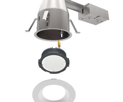 how to install remodel recessed light housing Installing Recessed Lighting Remodel 120v 6