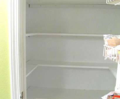 how to install wire rack shelving Kitchen Pantry Makeover, Installing Wood Wrap Around Shelving How To Install Wire Rack Shelving Nice Kitchen Pantry Makeover, Installing Wood Wrap Around Shelving Galleries