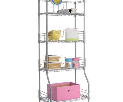 how to install wire rack shelving LANGRIA Silver 4-Tier Wire Bookshelf Rack Storage Organization RackS Shelving Unit Easy Install Holders with Adjustable Feet How To Install Wire Rack Shelving Nice LANGRIA Silver 4-Tier Wire Bookshelf Rack Storage Organization RackS Shelving Unit Easy Install Holders With Adjustable Feet Photos