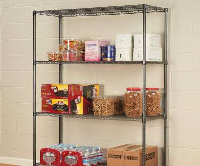 how to install wire shelves upside down Amazon.com: Alera ALESW604818BA Complete Wire Shelving Unit w/Caster, Four- Shelf, 48 x 18 x, Black Anthracite: Kitchen & Dining How To Install Wire Shelves Upside Down Simple Amazon.Com: Alera ALESW604818BA Complete Wire Shelving Unit W/Caster, Four- Shelf, 48 X 18 X, Black Anthracite: Kitchen & Dining Collections