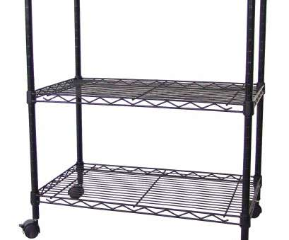how to install wire shelves upside down Excel Multi-Purpose 3-Tier Wire Shelving Unit with Casters, 24, X 14, X 28 In., Black & Reviews, Wayfair How To Install Wire Shelves Upside Down Perfect Excel Multi-Purpose 3-Tier Wire Shelving Unit With Casters, 24, X 14, X 28 In., Black & Reviews, Wayfair Galleries
