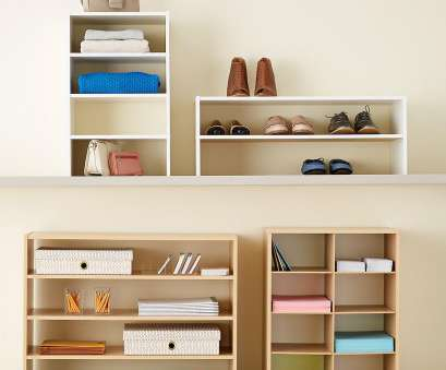 how to install wire shelves upside down Natural 2-Shelf Shoe Stacker How To Install Wire Shelves Upside Down New Natural 2-Shelf Shoe Stacker Solutions