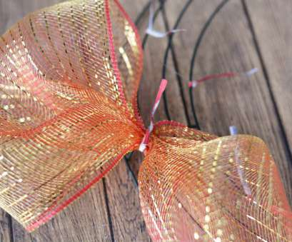 19 Top How To Make A Mesh Ribbon Wreath On Wire Frame Images