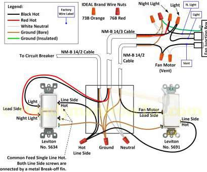 how to wire a ceiling fan with one light switch 3 Gang Light Switch Wiring Diagram, Wiring Diagram 3, Switch Ceiling, And Light Gallery 9 Professional How To Wire A Ceiling, With, Light Switch Ideas