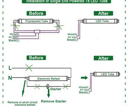 10 Cleaver How To Wire A Fluorescent Light, Led Solutions
