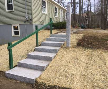 how to wire a granite light post New Granite Stairway Installation, Thibodeau Landscaping How To Wire A Granite Light Post Simple New Granite Stairway Installation, Thibodeau Landscaping Galleries