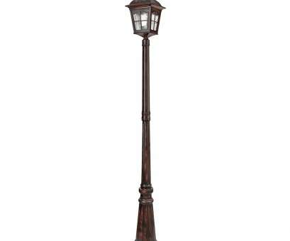how to wire a granite light post Searchlight 1574BR Pompeii 1 Light Outdoor Post Lamp granite lamp post installation How To Wire A Granite Light Post New Searchlight 1574BR Pompeii 1 Light Outdoor Post Lamp Granite Lamp Post Installation Images