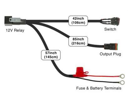 """how to wire a led light Wiring Harness, 10-30"""", Light, for Razor Series Light Bars 15 Nice How To Wire A, Light Images"""