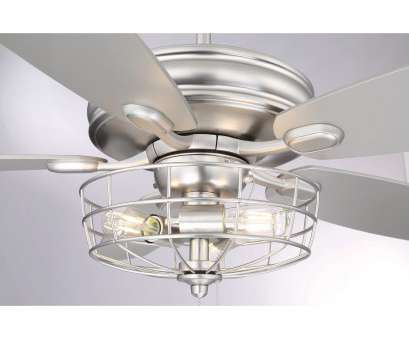 How To Wire A Light Ceiling Fan Perfect 3-Light Brushed Nickel Ceiling, With Metal Wire Cage, Silver, Free Shipping Today, Overstock.Com, 18127615 Galleries