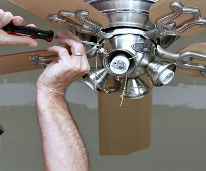 How To Wire A Light Ceiling Fan Simple How To Install A Ceiling, -, Home Depot Blog Images