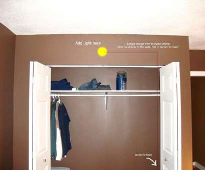 how to wire a light in a closet Cool, Closet Light Fixtures, Closet Ohperfect Design How To Wire A Light In A Closet Best Cool, Closet Light Fixtures, Closet Ohperfect Design Galleries