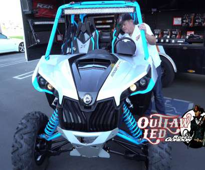 how to wire a led light bar on a can am x3 40
