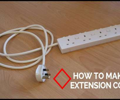 how to wire a light socket to an extension cord How To Make Extension Cord How To Wire A Light Socket To An Extension Cord Top How To Make Extension Cord Images