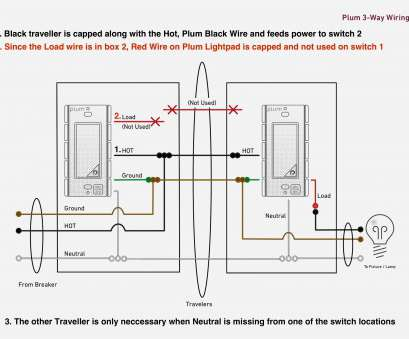 how to wire a light switch 3 black wires Wiring Diagrams 2, Light Switch 3 Dimmer, Two Diagram : Two How To Wire A Light Switch 3 Black Wires Practical Wiring Diagrams 2, Light Switch 3 Dimmer, Two Diagram : Two Collections
