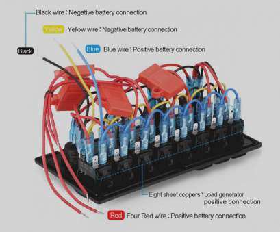 How To Wire A Light Switch From Panel Most Rocker Switch Panel Wiring Diagram Arcnx Co Rh Arcnx Co 4 Gang Light Switch 4 Gang Pictures