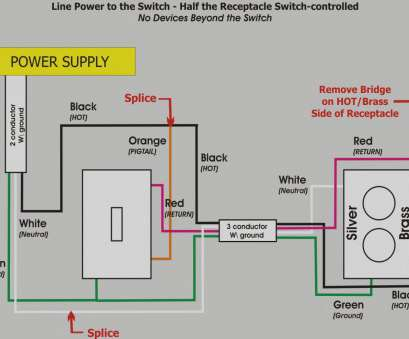9 Professional How To Wire A Light Switch To Power An Outlet Images