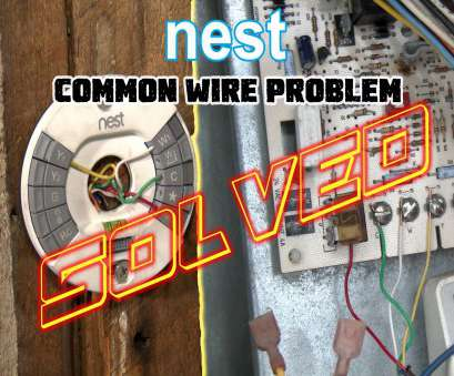 how to wire a light switch with no common Nest Thermostat No Common Wire- PROBLEM SOLVED -How To Install Nest Missing Common, Wire, YouTube How To Wire A Light Switch With No Common Best Nest Thermostat No Common Wire- PROBLEM SOLVED -How To Install Nest Missing Common, Wire, YouTube Collections